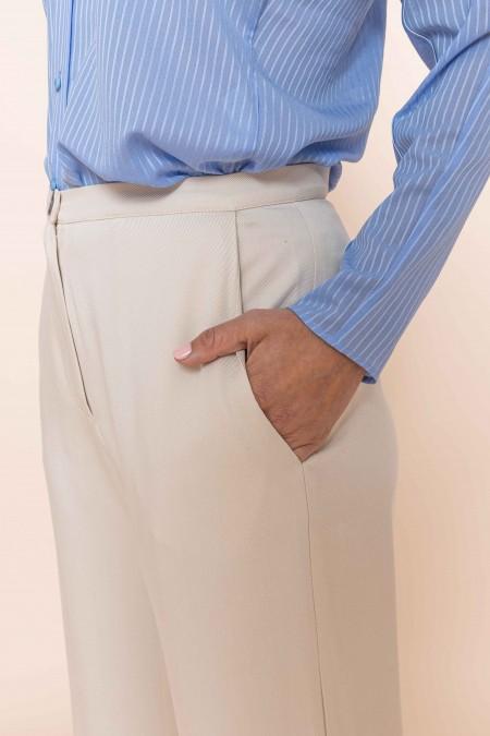 Wide Pants Arouga Eggshell