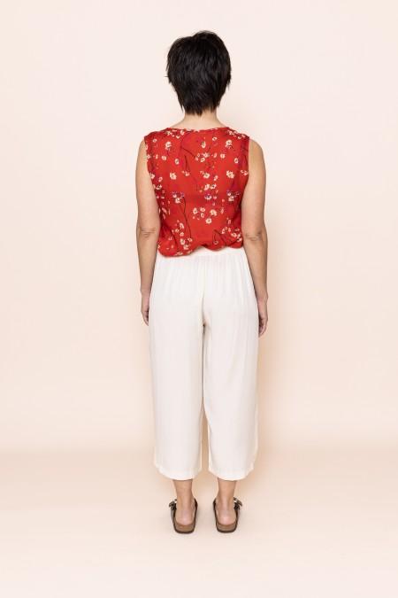 Top Moonflower Red