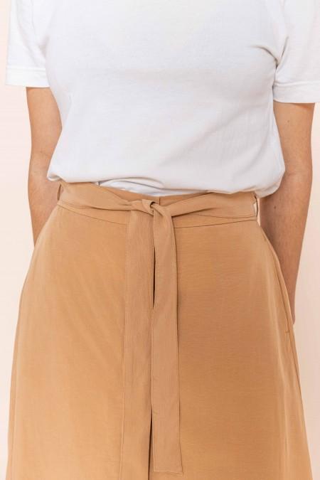 Midi Skirt Beige