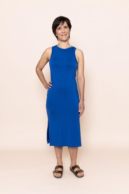 Sofia Dress Royal Blue
