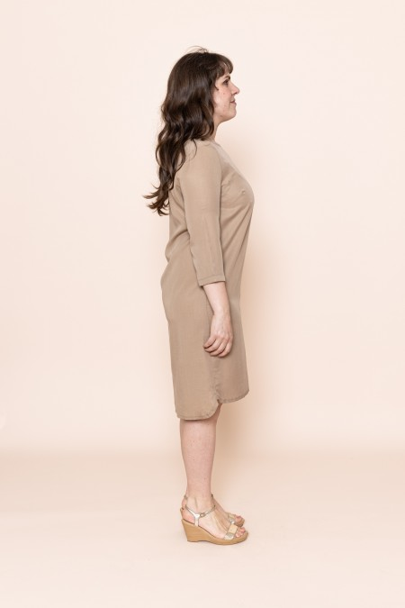 Freya Dress (Light Camel)