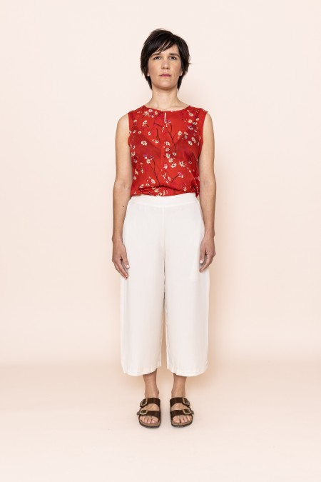 Anna Pants Off White