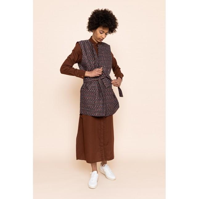 JORDY Sleeveless jacket