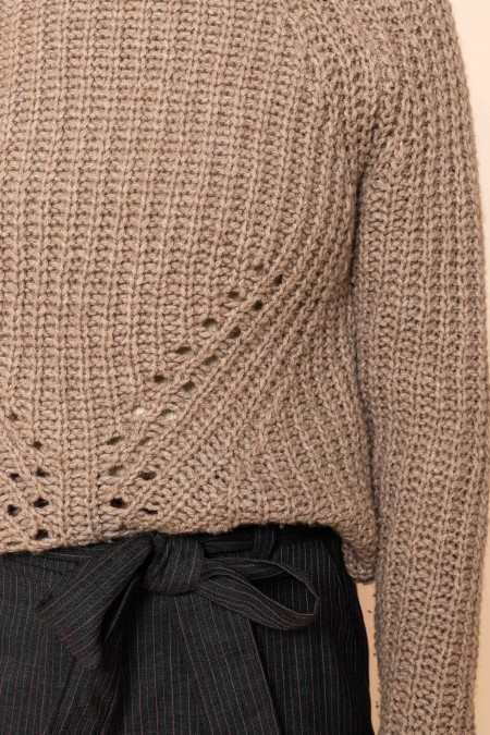 Ripped Pullover Natural