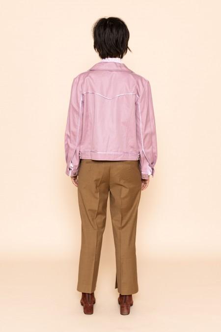 boxy jacket pink