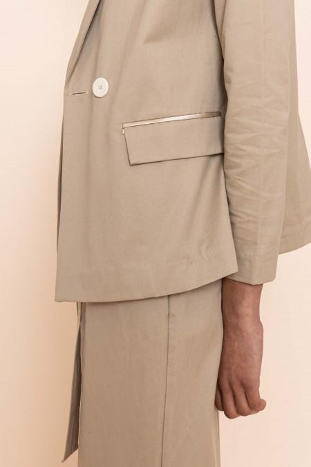 Blazer jacket beige