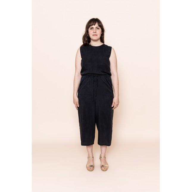 Tencel Jumpsuit Black