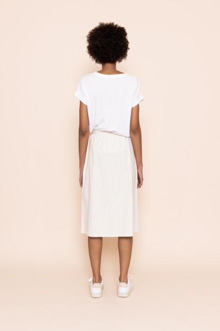 Express Stripe Skirt
