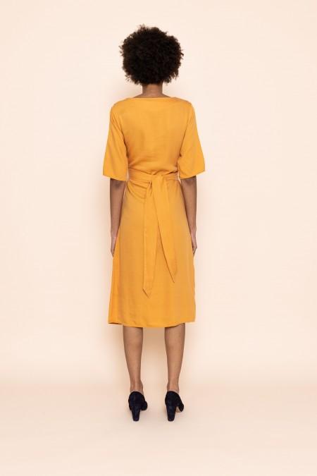 Relate Orange Dress