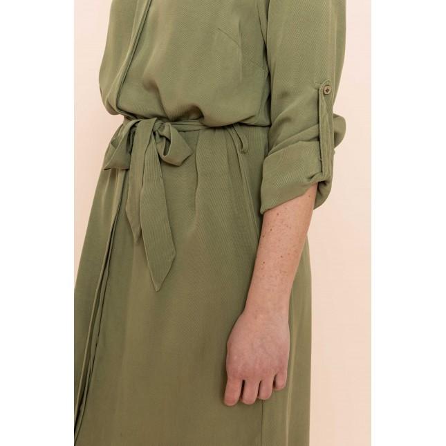 Conscious green dress