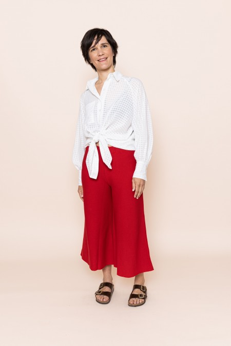 Tracy Pants (Cyber Red)