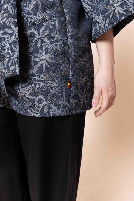 EVORA Kimono (gris-bleu...