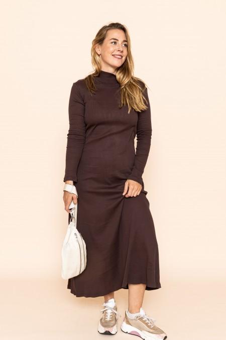 Dress Rory Rib Mocca