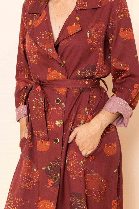 Robe Trench Automne