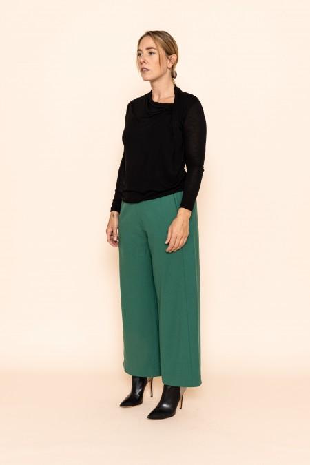 Alpine Green Trousers 7/8
