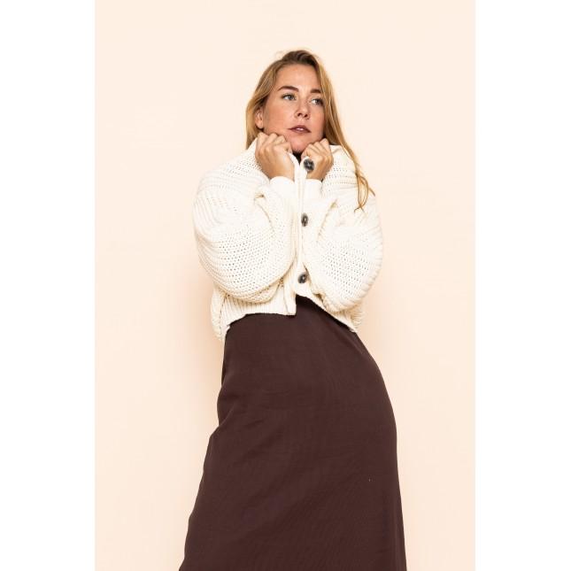 Knit Jacket Lena Offwhite